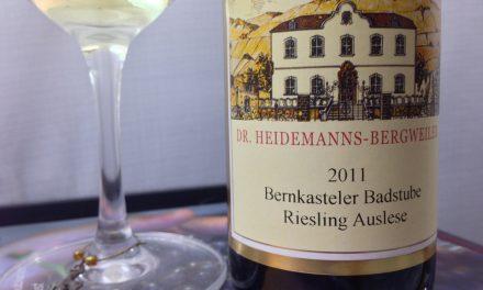 2011 Dr. Heidemanns-Bergweiler Bernkasteler Badstube Riesling Auslese