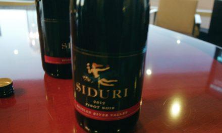 Pinot School – Siduri in the House!