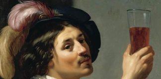 Jan van Bijlert - Young Man Drinking a Glass of Wine