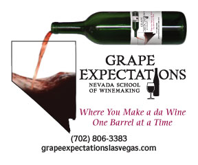 """Great Grapes at Grape Expectations! Nevada Wine """"Laws"""""""