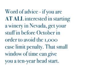 Nevada Winery