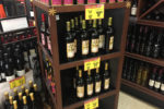 Wines on Shelving at Albertsons