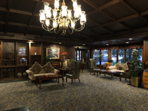 Lobby of the Santa Maria Inn