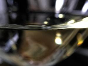Glass of Albarino