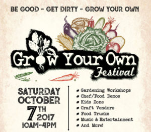 Grow Your Own Food Festival