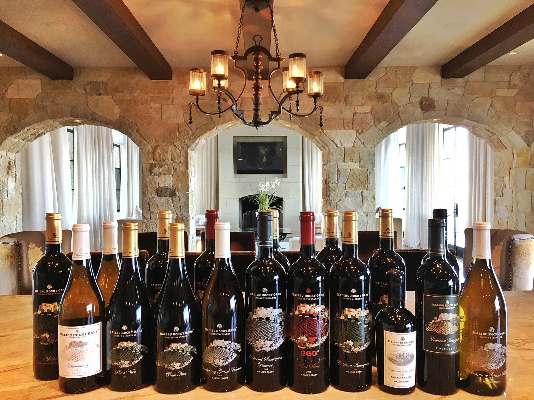 Malibu Rocky Oaks Wine