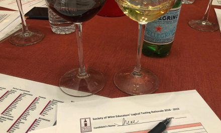 Photo (and Video) Story – Learning Sommelier Stuff