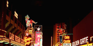 Old Fremont, downtown Las Vegas