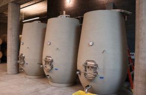 Concrete tanks at Epoch