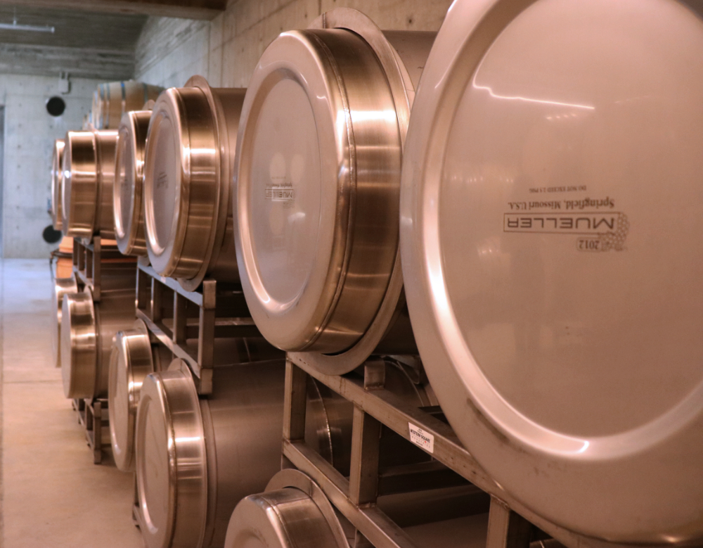 Wrapped Stainless Tanks