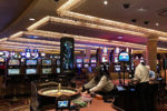 Inside the casino