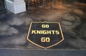 Golden Knights in BeerHaus