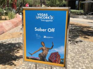 Saber Off Sign