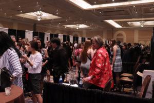 Lots of wine folk!