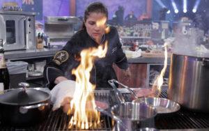 Alex Guarnaschelli Iron Chef America