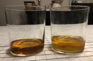 Bourbon - no ice vs clear ice