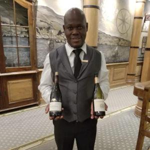 Gerald, our wine-savvy bartender