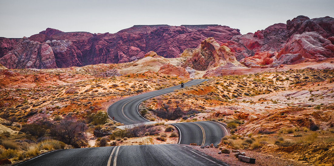 Road to Valley of Fire, just a couple of hours outside of Vegas