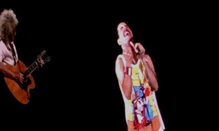 Queen! Freddy Mercury! Adam Lambert! The Strip! OMG OMG OMG!