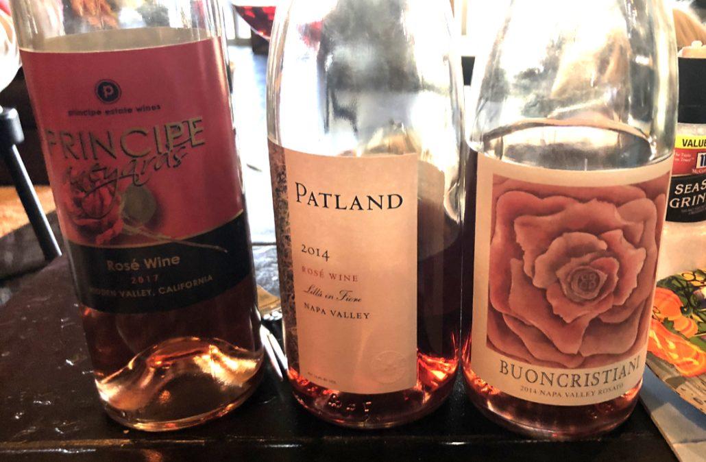 The Three Rosés