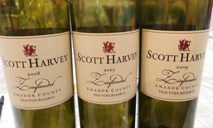 Scott Harvey Vertical Tasting