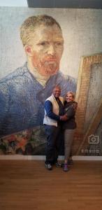 Laurel, Andras, and Van Gogh!