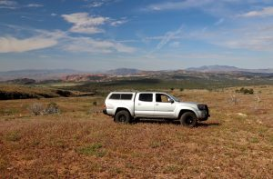 Middle of Nowhere with the 4WD!