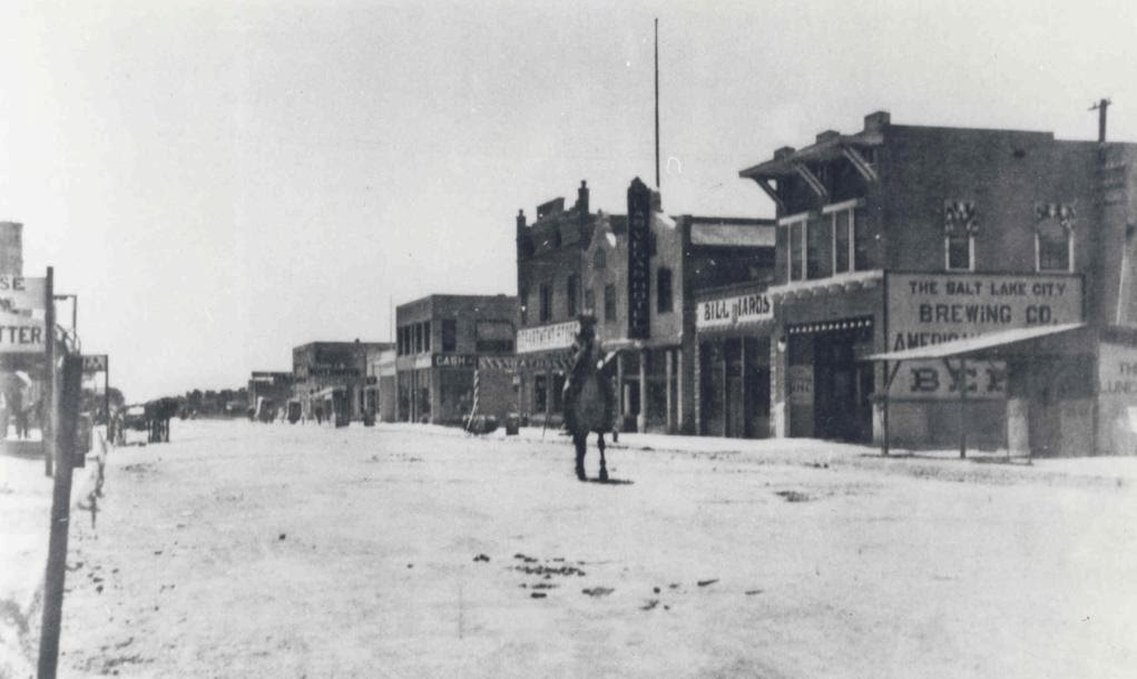 Downtown Las Vegas, 1912